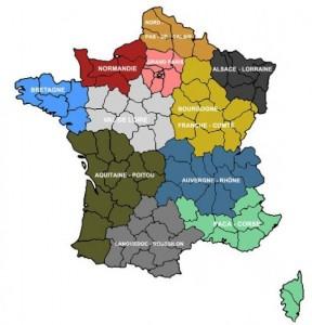 Prévision régions 3