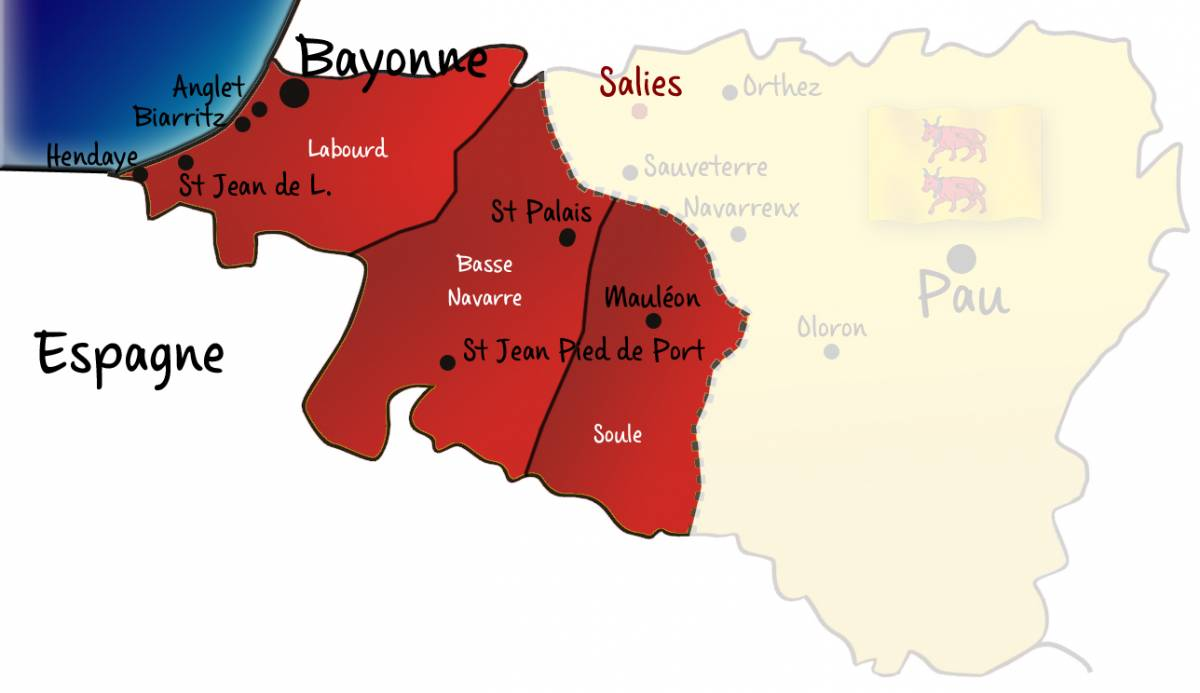 provinces du pays basque1
